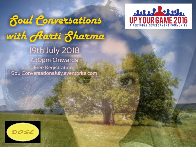 "Watch ""Soul Conversations with Aarti Sharma Ep. 1"""